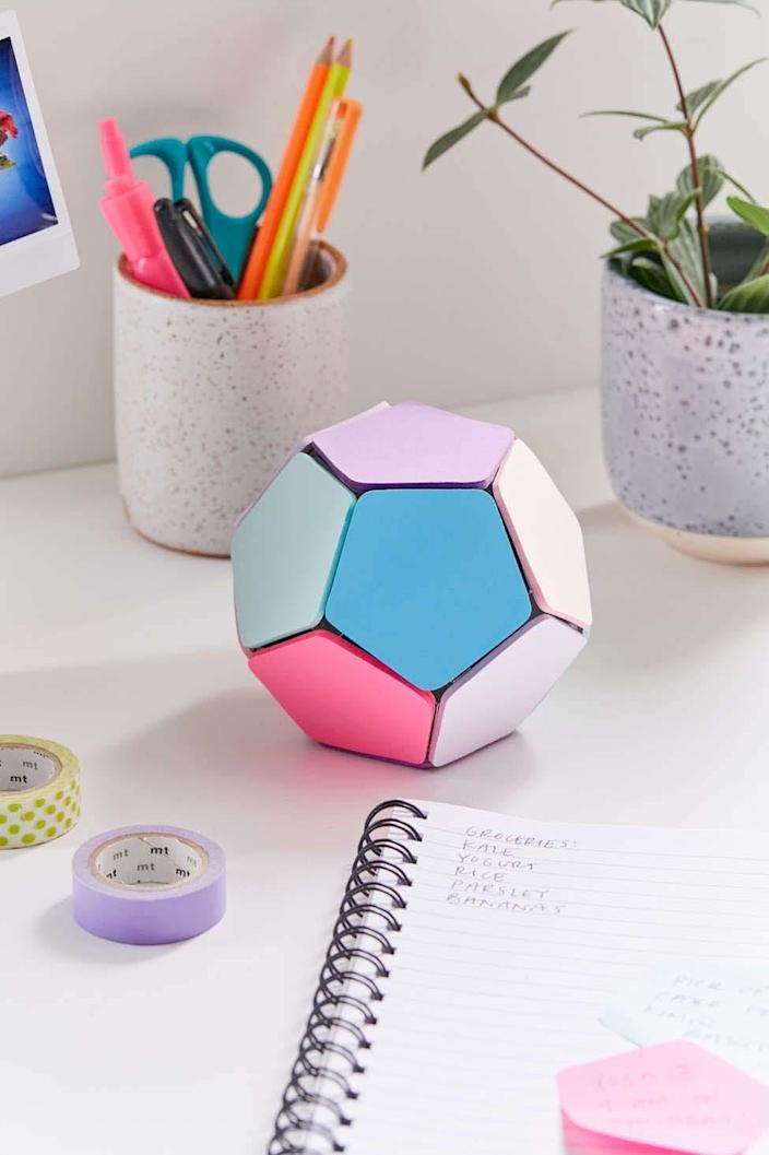 Sticky memo notepad ball from Urban Outfitters