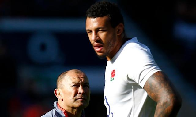 """<span class=""""element-image__caption"""">Courtney Lawes, who calls himself a lanky 115kg second row, has been working with the England head coach, Eddie Jones, on increasing his weight so he can carry the ball as hard as he tackles. </span> <span class=""""element-image__credit"""">Photograph: Peter Cziborra/Reuters</span>"""