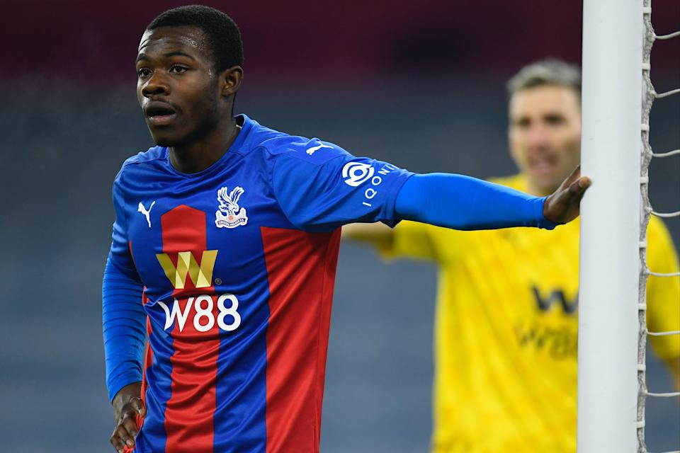 Arsenal have scouted Crystal Palace defender Tyrick Mitchell.Getty Images