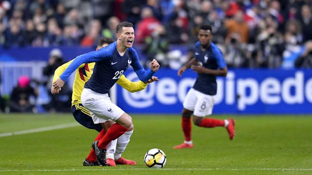 Lucas Hernandez admitted he exaggerated fouls during France's 2-1 win over Australia at the World Cup on Saturday.