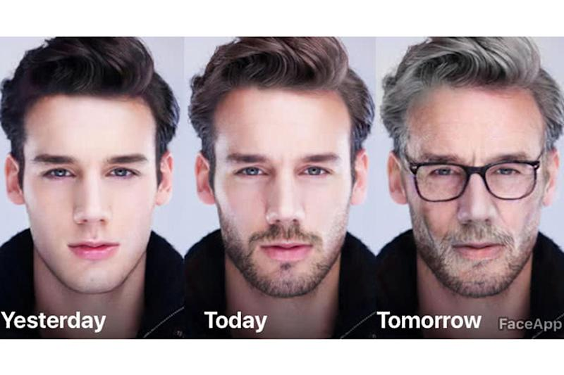 FaceApp uses AI to transform your face into what you may look like in the future (FaceApp)