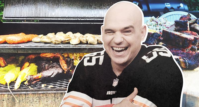 Chef Michael Symon has a game plan for Cleveland Browns game days this fall, and they involve lots of backyard grub and time to hang out with friends. (Michael Symon)