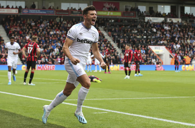 Cresswell makes it 2-2 (Mark Kerton/PA via AP)