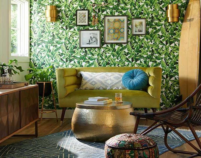 """<h3><strong>World Market</strong> </h3> <br><br><strong>Best For: Globally-Inspired Furniture & Decor<br></strong>An absolute mecca for affordable global-inspired home goods — if you're hunting for a unique piece minus the premium price-tag, World Market's stock has it covered from <a href=""""https://www.worldmarket.com/product/round-white-marble-milan-coffee-table.do"""" rel=""""nofollow noopener"""" target=""""_blank"""" data-ylk=""""slk:gilded coffee tables"""" class=""""link rapid-noclick-resp"""">gilded coffee tables</a> to <a href=""""https://www.worldmarket.com/product/wood-and-gold-triangle-wall-shelf.do"""" rel=""""nofollow noopener"""" target=""""_blank"""" data-ylk=""""slk:sculpturesque storage solutions"""" class=""""link rapid-noclick-resp"""">sculpturesque storage solutions</a> and <a href=""""https://www.worldmarket.com/product/half+round+mirror+with+acacia+wood+shelf.do"""" rel=""""nofollow noopener"""" target=""""_blank"""" data-ylk=""""slk:eclectic decor"""" class=""""link rapid-noclick-resp"""">eclectic decor</a> (that's more often than not on sale).<br><br><strong><em><a href=""""https://www.worldmarket.com/"""" rel=""""nofollow noopener"""" target=""""_blank"""" data-ylk=""""slk:Shop World Market"""" class=""""link rapid-noclick-resp"""">Shop World Market</a></em></strong><br><br><strong>Cost Plus World Market</strong> Green Horizontal Channel Back Zoe Loveseat, $, available at <a href=""""https://go.skimresources.com/?id=30283X879131&url=https%3A%2F%2Fwww.worldmarket.com%2Fproduct%2Fgreen%2Bhorizontal%2Bchannel%2Bback%2Bzoe%2Bloveseat.do%3Fsortby%3DourPicks"""" rel=""""nofollow noopener"""" target=""""_blank"""" data-ylk=""""slk:Cost Plus World Market"""" class=""""link rapid-noclick-resp"""">Cost Plus World Market</a><br><br><br><br>"""