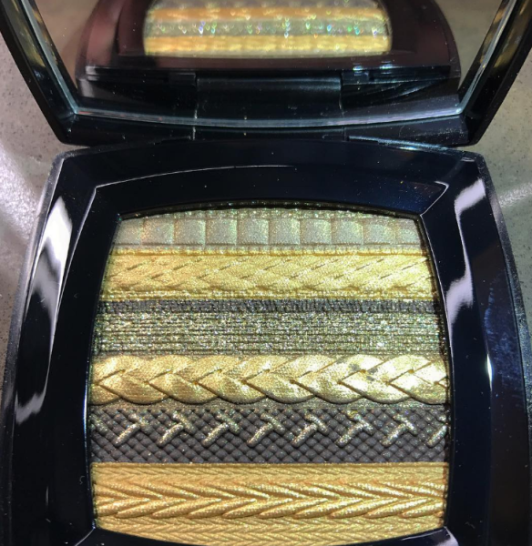 Chanel's New Eye-Shadow Palette Is Glittery Perfection