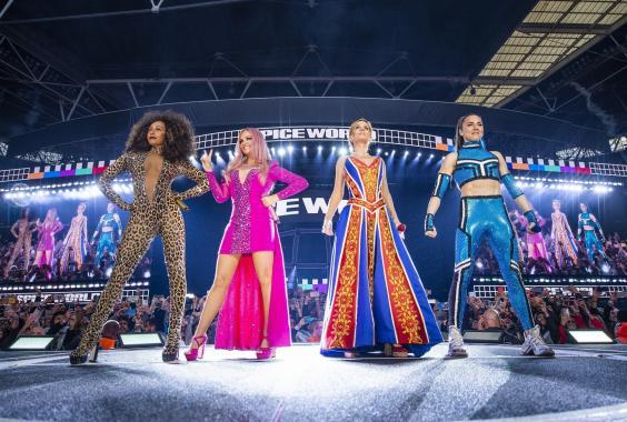 The Spice Girls live at Wembley Stadium this year (Timmsy/Backgrid)