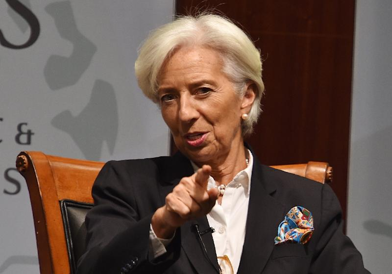 """""""Above all, we should collectively avoid self-inflicted injuries,"""" Lagarde said IMF Managing Director Christine Lagarde in a blog post"""