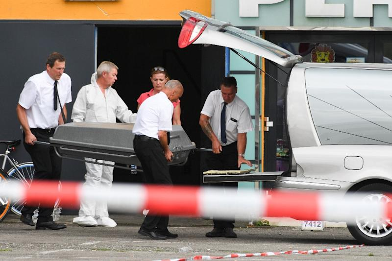 A gunman killed one person and wounded four others in a German nightclub before being shot dead by police (AFP Photo/Felix Kästle)