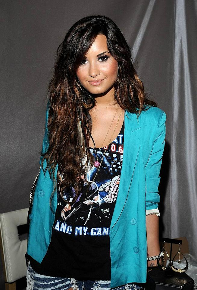 "August 20: Singer/actress Demi Lovato turns 19. Mark Sullivan/<a href=""http://www.wireimage.com"" target=""new"">WireImage.com</a> - August 6, 2011"