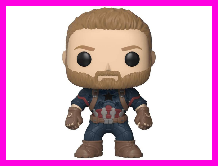Save 30 percent on the Funko POP! Marvel: Avengers Infinity War—Captain America. (Photo: Amazon)