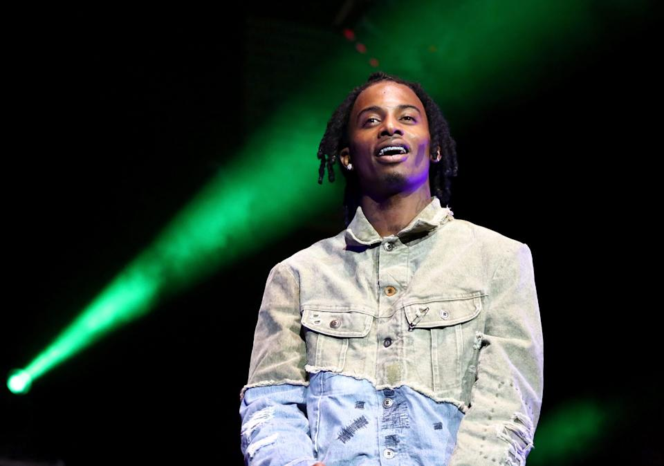 Playboi Carti performs onstage at the STAPLES Center Concert Sponsored by SPRITE during the 2018 BET Experience on June 23, 2018, in Los Angeles, California.