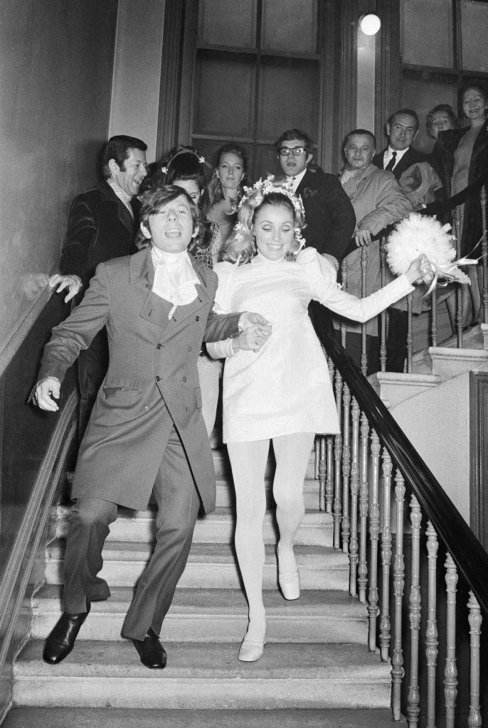 <p>Polanski and Tate exchanged vows at London's Chelsea Registry office in 1968. </p>