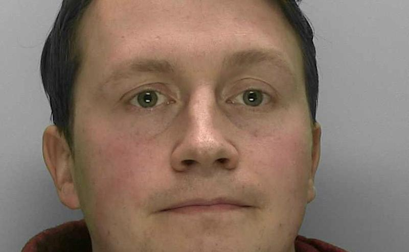 Oliver Cooper, 27, was sentenced to six years in prison (Picture: SWNS)