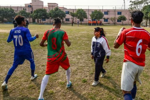 Mirona gave up a coaching job with the navy to return to Dhaka City FC