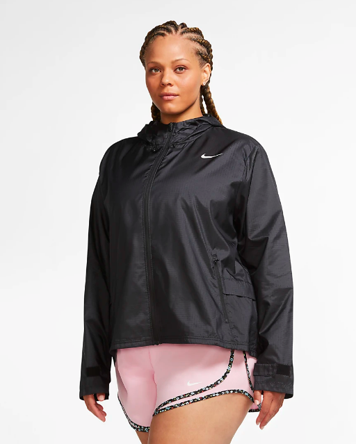 """<p><strong>nike</strong></p><p>nike.com</p><p><strong>$90.00</strong></p><p><a href=""""https://go.redirectingat.com?id=74968X1596630&url=https%3A%2F%2Fwww.nike.com%2Ft%2Fessential-womens-running-jacket-plus-size-g3PHHJ&sref=https%3A%2F%2Fwww.cosmopolitan.com%2Fstyle-beauty%2Ffashion%2Fg33523619%2Fbest-raincoats%2F"""" rel=""""nofollow noopener"""" target=""""_blank"""" data-ylk=""""slk:Shop Now"""" class=""""link rapid-noclick-resp"""">Shop Now</a></p><p>A waterproof jacket you can wear while working out or just while your out and about will get double the use. This Nike style has an adjustable hood and sleeves to keep water out, but it's lightweight enough so you don't break a sweat. </p>"""