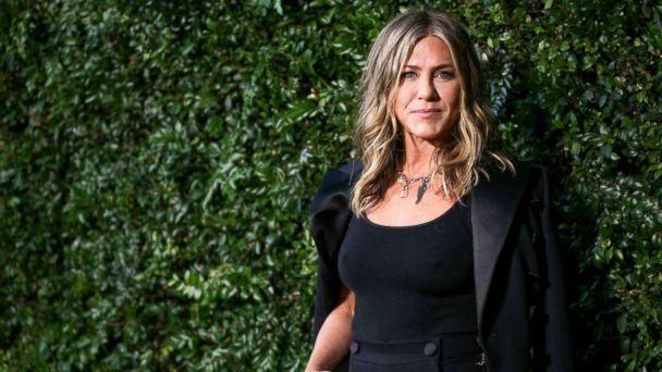 PHOTO: Jennifer Aniston attends the Chanel dinner celebrating 'Our Majestic Oceans, A Benefit' for NRDC, June 2, 2018, in Malibu, Calif. (Rich Fury/Getty Images)