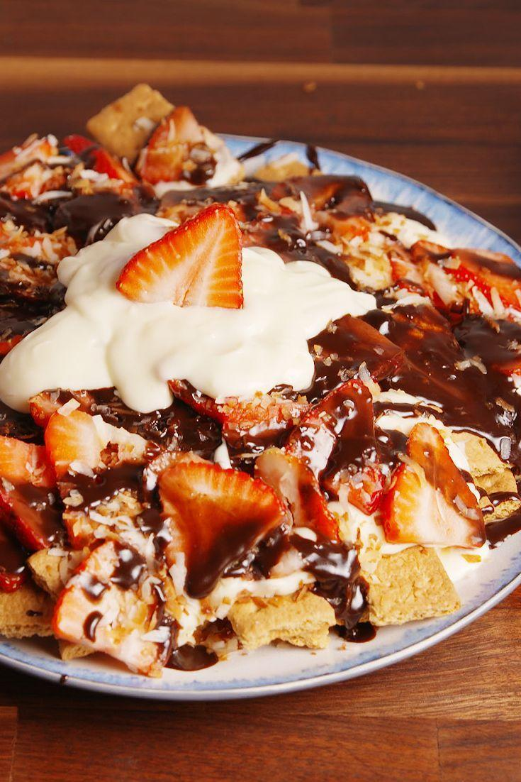 "<p>You'll never wait five hours for cheesecake-y goodness again.</p><p>Get the recipe from <a href=""https://www.delish.com/cooking/recipe-ideas/recipes/a52311/cheesecake-nachos-recipe/"" rel=""nofollow noopener"" target=""_blank"" data-ylk=""slk:Delish"" class=""link rapid-noclick-resp"">Delish</a>.</p>"