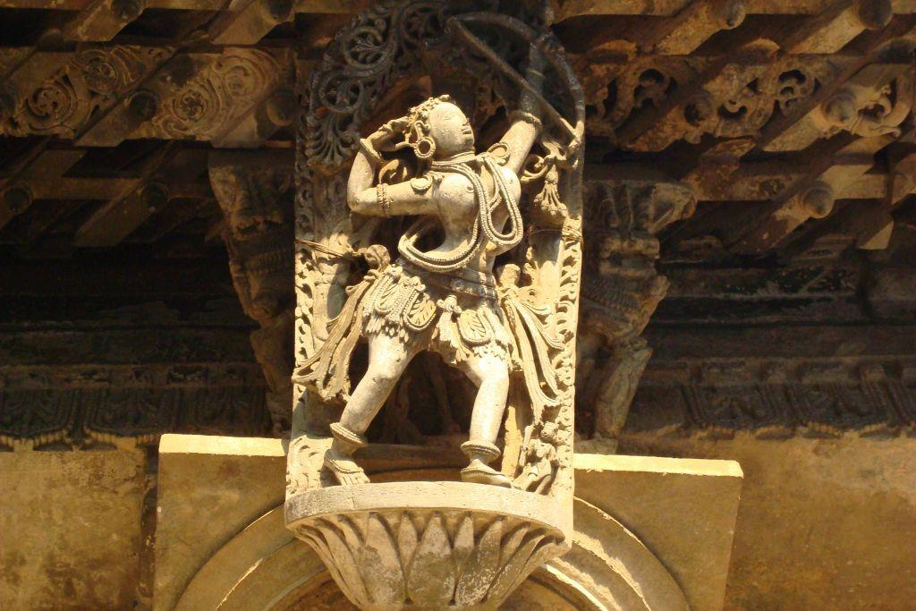 """<p><strong>Passion in stone: Belur</strong> (<a title=""""Belur - More Photos"""" href=""""http://in.lifestyle.yahoo.com/photos/magnificent-belur-poetry-in-soapstone-slideshow/"""" target=""""_blank"""">More photos</a>)<br />It is a love affair that began five years ago. My tryst with the <a title=""""Hoysala temples"""" href=""""http://in.lifestyle.yahoo.com/five-hoysala-temples-off-the-tourist-map.html"""" target=""""_blank"""">Hoysalas</a> began with the ancient town of Velapuri, the ancient capital of the dynasty built on the banks of the river Yagachi. Today we know it as Belur, the home of the beautiful Chennakesava temple. The temple is sheer poetry in stone. Look at the curved damsels carved as bracket figures. These apsaras or Madanikas are perfect in every way. They are believed to have been inspired by the Hoysala queen Shantala.</p>"""