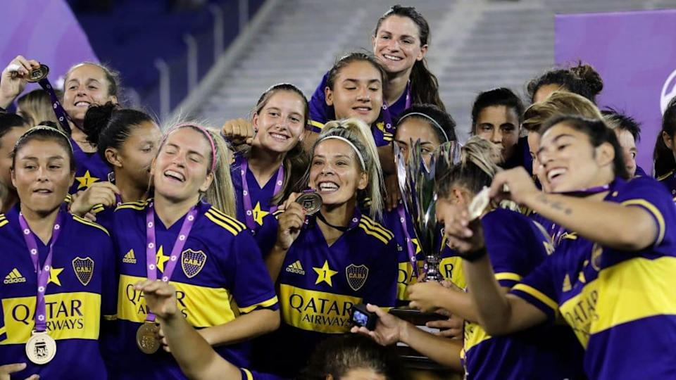 Boca Juniors v River Plate - Women's First Division 2020/21 | Pool/Getty Images