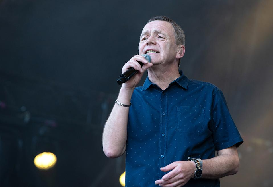 Duncan Campbell's replacement in UB40 has been announced. (Photo by Lorne Thomson/Redferns)
