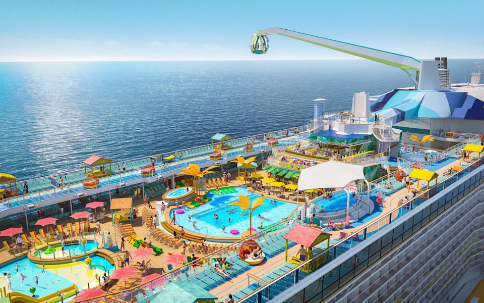 Odyssey of the Seas is a Quantum Ultra class ship - ROYAL CARIBBEAN