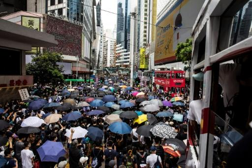 The Hong Kong pro-democracy protests have angered Beijing, which has announced plans for a national security law for the city