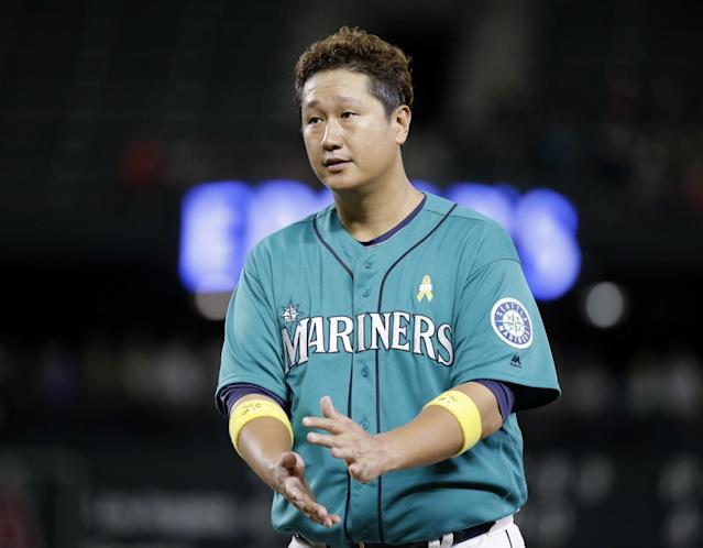 Dae-ho Lee, who played with the Mariners last season, will be a big part of Korea's offense. (AP)
