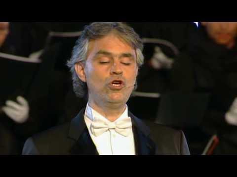 """<p>""""Ave Maria"""" is the ultimate tribute to Mary of Nazareth, Mother of Jesus. What better vocalist to offer this musical form of praise than the internationally renowned Italian singer songwriter?<br></p><p><a href=""""https://www.youtube.com/watch?v=pwp1CH5R-w4"""" rel=""""nofollow noopener"""" target=""""_blank"""" data-ylk=""""slk:See the original post on Youtube"""" class=""""link rapid-noclick-resp"""">See the original post on Youtube</a></p>"""