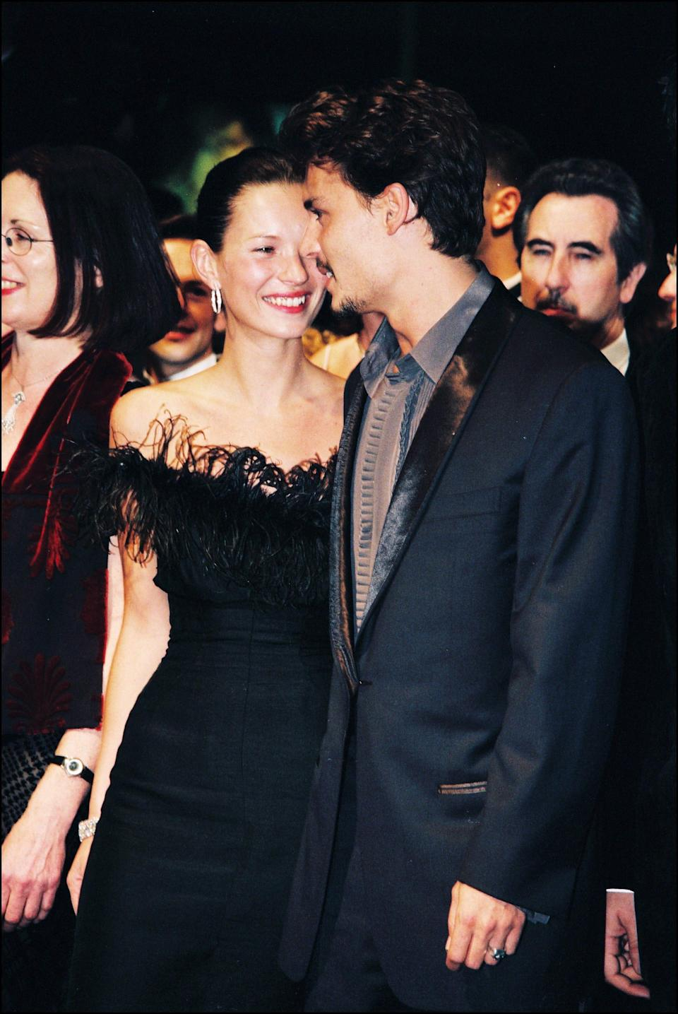 Johnny Depp and Kate Moss cannes