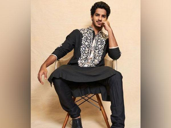 Bollywood actor Ishaan Khatter (Image source: Instagram)