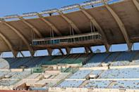 Camille Chamoun Sports City Stadium, which hosted the 1997 Pan-Arab Games, the 2000 Asian Football Confederation (AFC) Asian Cup, and the 2009 Jeux de la Francophonie, in Lebanon's capital Beirut (AFP/ANWAR AMRO)