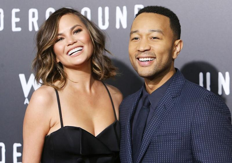 Chrissy Teigen and John Legend | Michael Tran/FilmMagic
