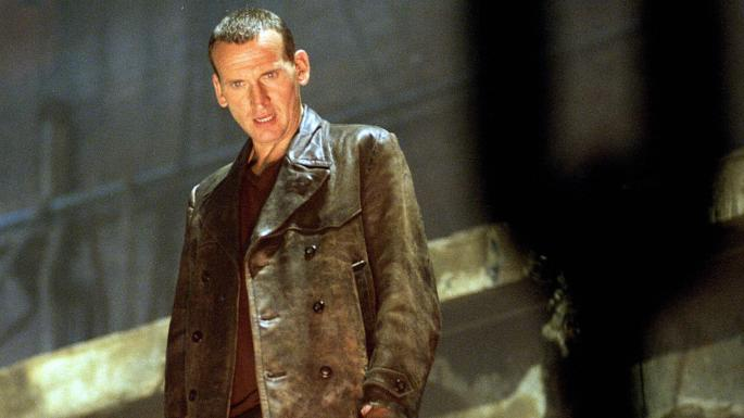 Christopher Eccleston in Doctor Who (Credit: BBC)
