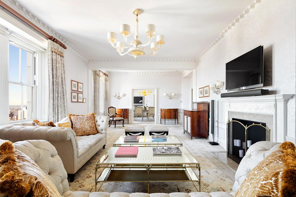 <p><strong>How did it strike you on arrival?</strong><br> Stately and imposing, the Pierre lives up to its prime location across from Central Park on the Upper East Side. Think black-and-white marble floors, gilded moldings, and big, fresh flower arrangements. You can't help but feel important when you're here.</p> <p><strong>What's the crowd like?</strong><br> It's a big mix that skews older, but everyone here appreciates the Upper East Side location and the elegant surroundings.</p> <p><strong>The good stuff: Tell us about your room.</strong><br> Rooms are a bit subdued, in creams and whites, though a pop of color is provided here and there.</p> <p><strong>We're craving some deep, restorative sleep. They got us?</strong><br> The pillow-top mattresses are near perfect and duck down pillows come standard in every room. But for guests who prefer feather-free pillows, they've got a whole range of options from synthetic down to buckwheat filled pillows. And if you can't sleep without your body pillow, they have those upon request, too.</p> <p><strong>Please tell us the bathroom won't let us down.</strong><br> Turkish marble covers almost every inch of the bathrooms here, which come with fluffy, oversized towels and Etro amenities.</p> <p><strong>Maybe the most important topic of all: Wi-Fi. What's the word?</strong><br> Strong, free Wi-Fi.</p> <p><strong>Anything stand out about other services and features? Whether it's childcare, gyms, spas, even parking—whatever stuck with you.</strong><br> The Pierre's afternoon tea service is famous for a reason; expect fresh scones and petit fours along with clotted cream, jams, and finger sandwiches. Dining can also be enjoyed at the Perrine restaurant and the legendary Rotunda (with its iconic murals), while the Art Deco Two E Bar and Lounge is a sophisticated spot for cocktails and live music.</p> <p><strong>What was most memorable—or heartbreaking—about your stay?</strong><br> The service is truly exceptional, and you'll proba