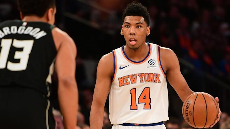 33acb6ecf Report  Knicks undrafted rookie Allonzo Trier will have higher salary than  20 of 30 2018 first-round picks