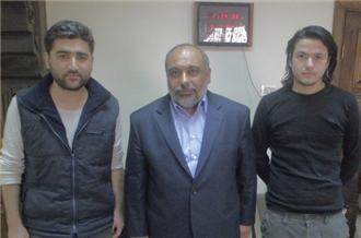 Detained Turks released by Syria