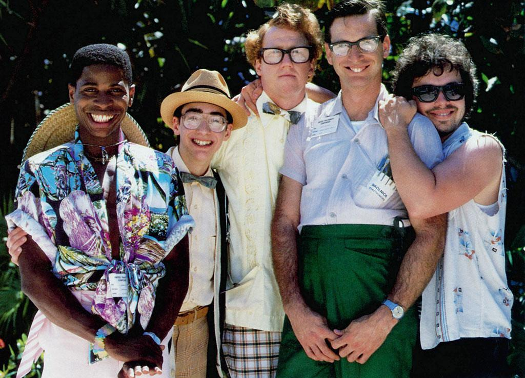 "<b>""Revenge of the Nerds II: Nerds in Paradise""</b> (1987) <br>Most of the crew from the 1984 classic returns for a trip to Florida, only to find more nerd hating Alpha Betas. Unfortunately, Anthony Edwards' Gilbert wasn't one of the returning alumni. How can you have Lewis and Gilbert without the Gilbert? It's like PB&J without the J. And how come no one thought to get Ogre stoned in the first movie? Bad decision, mostly because we had to wait three long years for him to say, ""What if C-A-T really spelled dog?"""
