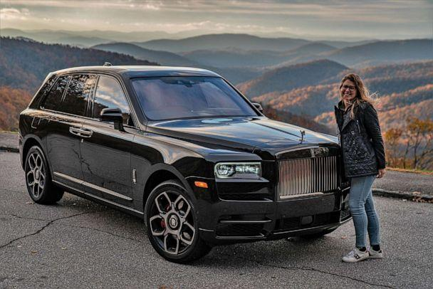 PHOTO: Rolls-Royce says younger buyers prefer the Black Badge models, which offer more chrome, more performance and more bespoke options. (Eric Adams)