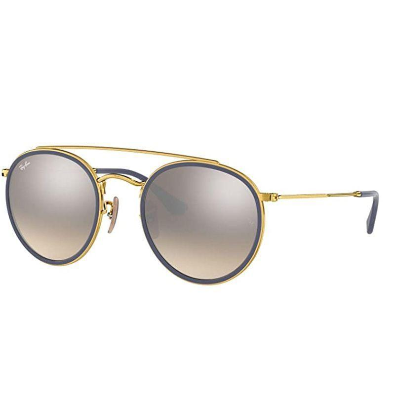 """<p><strong>Ray-Ban</strong></p><p>amazon.com</p><p><strong>$148.20</strong></p><p><a href=""""https://www.amazon.com/dp/B075KNPBP5?tag=syn-yahoo-20&ascsubtag=%5Bartid%7C10054.g.32958300%5Bsrc%7Cyahoo-us"""" rel=""""nofollow noopener"""" target=""""_blank"""" data-ylk=""""slk:Buy"""" class=""""link rapid-noclick-resp"""">Buy</a></p><p>A double bridge makes for double the swerve. </p>"""
