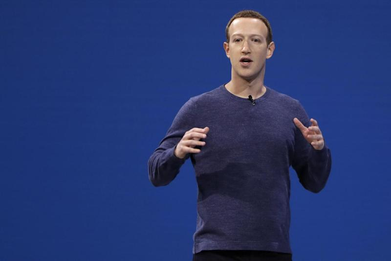Mr Zuckerberg's remarks sparked criticism (AP)