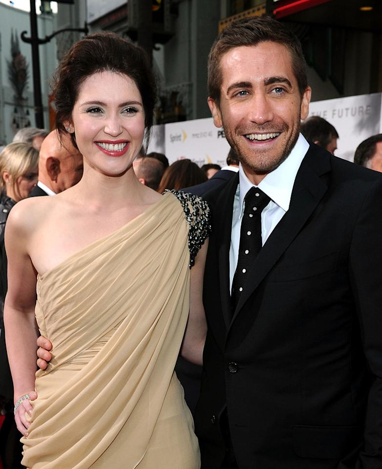 """<a href=""""http://movies.yahoo.com/movie/contributor/1809853072"""">Gemma Arterton</a> and <a href=""""http://movies.yahoo.com/movie/contributor/1800019221"""">Jake Gyllenhaal</a> at the Los Angeles premiere of <a href=""""http://movies.yahoo.com/movie/1810041991/info"""">Prince of Persia: The Sands of Time</a> - 05/17/2010"""