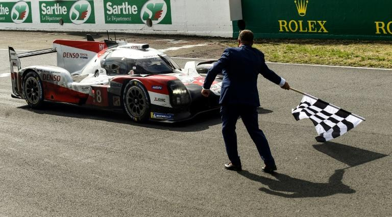 Toyota make it three in a row at Le Mans