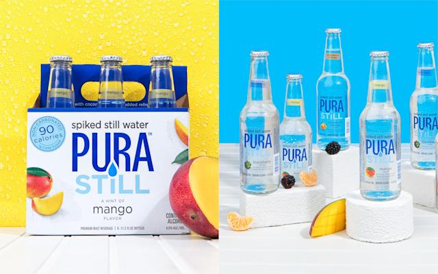 Will you be giving spiked still water a go? [Photo: Pura Still]