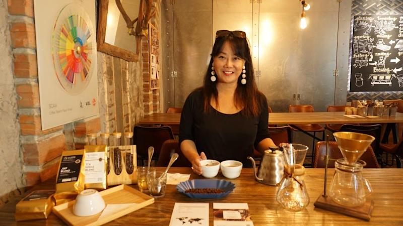 Owner of coffee chain The Coffee Academics Jennifer Liu. (Photo: The Coffee Academics)