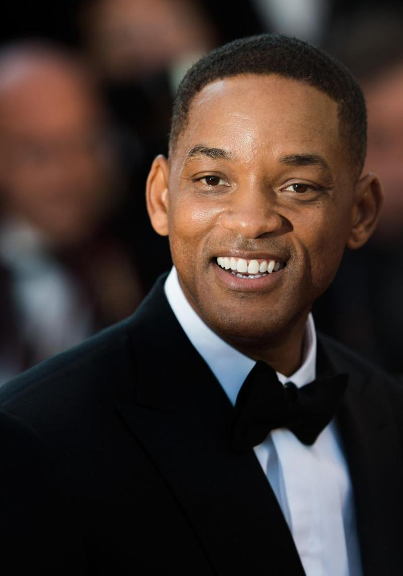 Will Smith has been cast to play Genie in the remake of Aladdin. Source: Getty