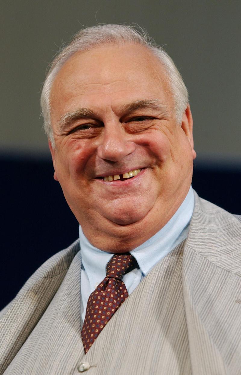 File photo dated 23/09/2004 of actor Roy Hudd as Edward McKeever, during a photocall for the new production of 1950s comedy 'The Solid Gold Cadillac' at The Garrick Theatre in London. The comedian and actor has died at the age of 83, his agent has said.