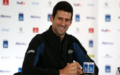 <span>World No 1 Novak Djokovic is among the favourite for the ATP Finals starting on Sunday</span> <span>Credit: John Patrick Fletcher/Action Plus </span>
