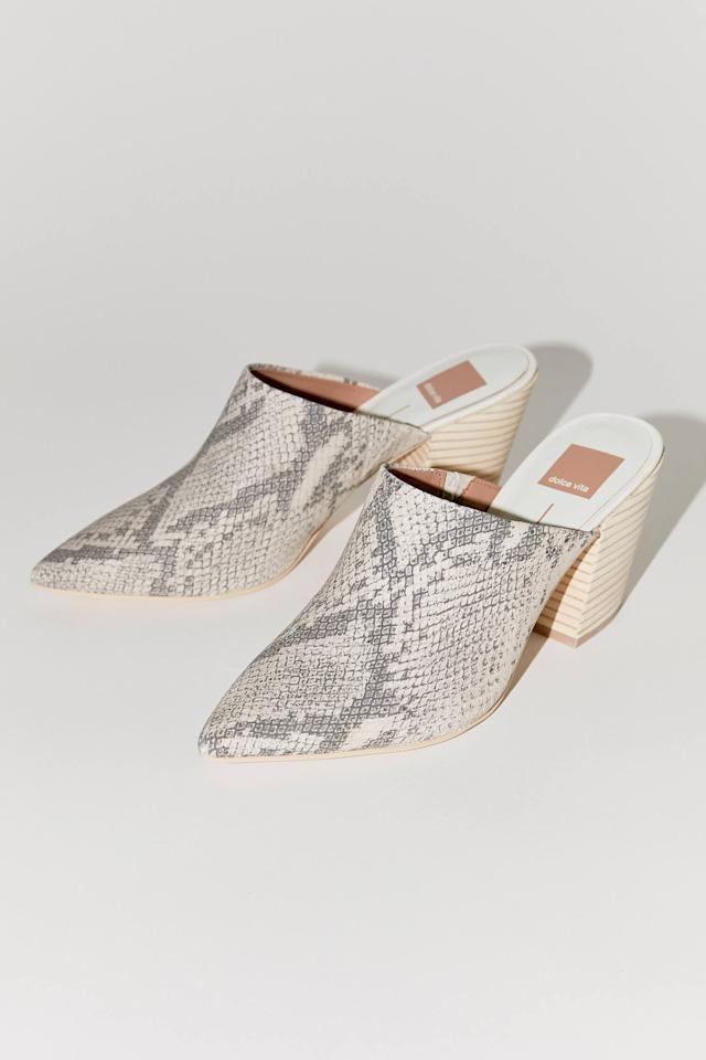 """<p>These <a href=""""https://www.popsugar.com/buy/Dolce%20Vita%20Angela%20Mules-472591?p_name=Dolce%20Vita%20Angela%20Mules&retailer=urbanoutfitters.com&price=130&evar1=fab%3Aus&evar9=46422677&evar98=https%3A%2F%2Fwww.popsugar.com%2Ffashion%2Fphoto-gallery%2F46422677%2Fimage%2F46422681%2FDolce-Vita-Angela-Mules&list1=shopping%2Cfall%20fashion%2Curban%20outfitters&prop13=mobile&pdata=1"""" rel=""""nofollow"""" data-shoppable-link=""""1"""" target=""""_blank"""" class=""""ga-track"""" data-ga-category=""""Related"""" data-ga-label=""""https://www.urbanoutfitters.com/shop/dolce-vita-angela-mule?category=womens-new-arrivals&amp;color=018&amp;quantity=1&amp;type=REGULAR"""" data-ga-action=""""In-Line Links"""">Dolce Vita Angela Mules</a> ($130) look great with jeans.</p>"""