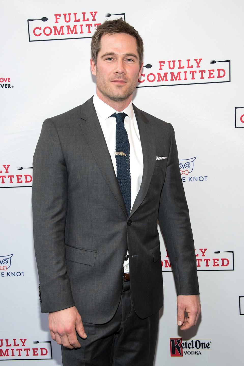 <p>Macfarlane is set to play James, a handsome trainer who works with Peter's mother and gets set up on a surprise blind date with Peter. This definitely isn't Macfarlane's first go-round in a romance: his breakthrough role was as one half of a gay couple on the drama series <strong>Brothers and Sisters</strong>, and he's since become a staple on Hallmark Channel's rom-coms.</p>