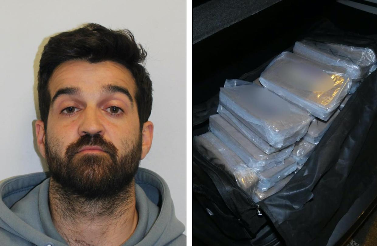 Sam Migliorini was jailed for eight years. (Met Police)